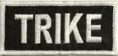"TRIKE Biker Patch3 1/4"" x 3""Available in 2 ColorsFREE SHIPPING - Product Image"