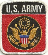 "U.S. ARMY  Military Patch  3 1/4"" x 3""  FREE SHIPPING - Product Image"