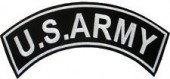 "U.S. ARMYTop or Bottom RockerMilitary Patch3"" x 11""Available in 3 ColorsFREE SHIPPING - Product Image"