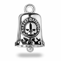 Willie G Skull Harley Davidson ® Motorcycle Ride Bell  FREE SHIPPINGHRB005 - Product Image