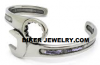 Wrench Cuff Bracelet Stainless Steel  FREE SHIPPING